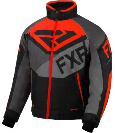 Fxr Fuel Jacket Black/grey/char/lava