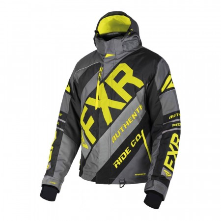 FXR CX Jakke Charcoal/Sort/Hi-vis