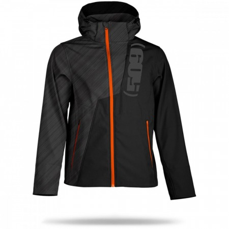 509 Tactical Softshell Jacket Black Ops Orange