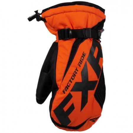 Fxr Race Warm-up Mitt Orange