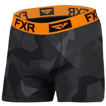 Fxr M Helium X Tech Boxer Char Camo/orange
