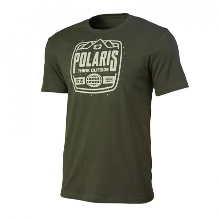 Polaris Stamp Tee Olive