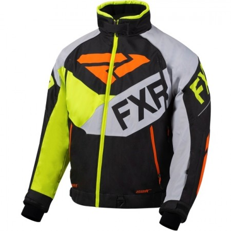 Fxr Fuel Jacket grey/orange/black/hi-vis